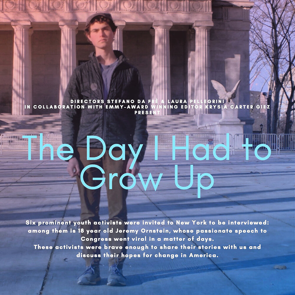 The Day I Had To Grow Up — We are moving stories